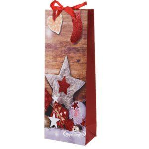 Пакеты подар, сумки бум. п/бутылку