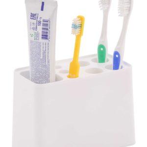 Подставка, стаканы, футляры д/зубных щёток